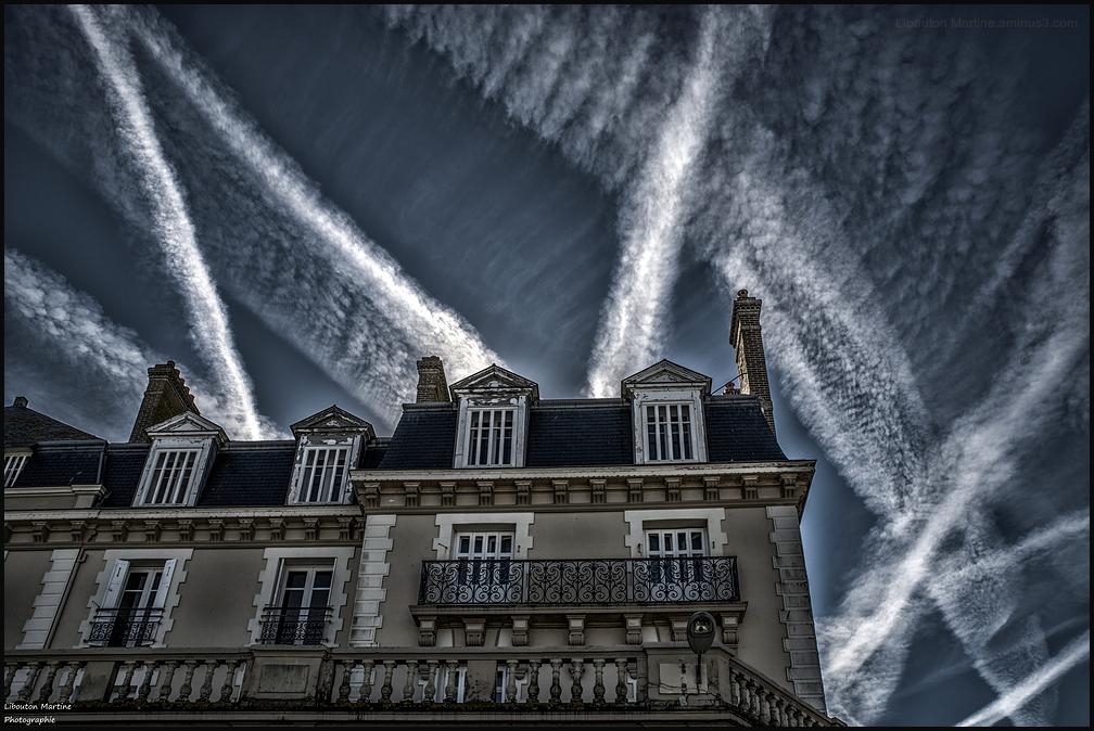 les toits de Saint -Malo !