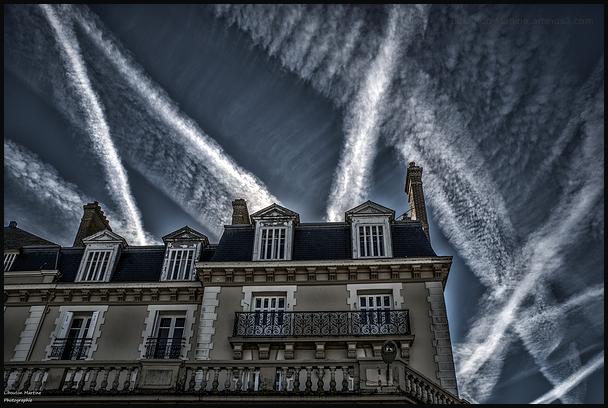 les toits de Saint  Malo !