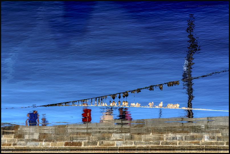 Sur les quais de Saint  Malo