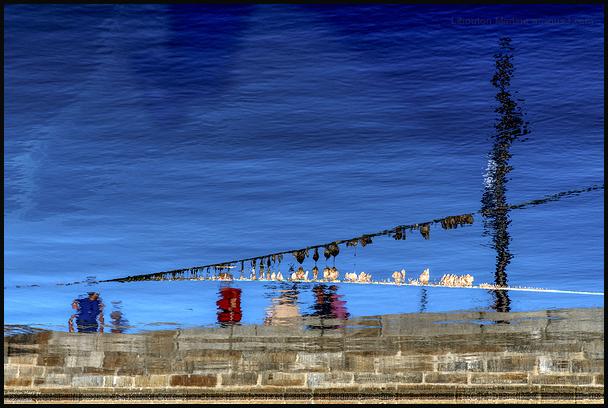 Sur les quais de Saint- Malo