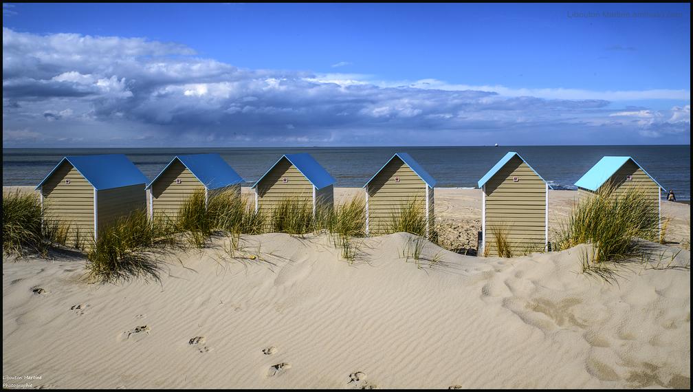 Les cabines de plages