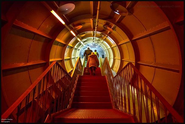 Les entrailles de l'Atomium