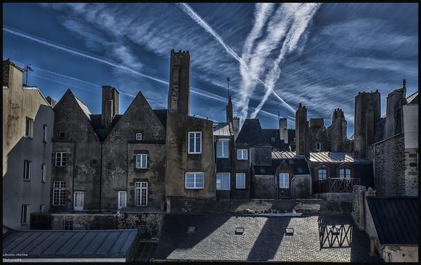Les cheminées de Saint Malo