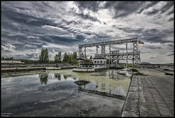 L'ascenceur à bateau de  Thieu