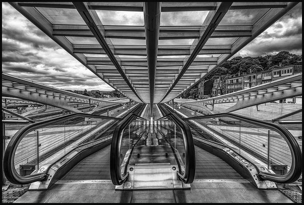 Les escalators !