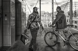 Bruxelles .... à bicyclette !!!
