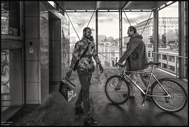 Bruxelles ... à bicyclette !!!