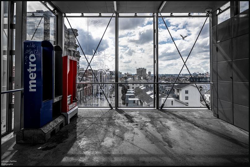 Bruxelles en cage !