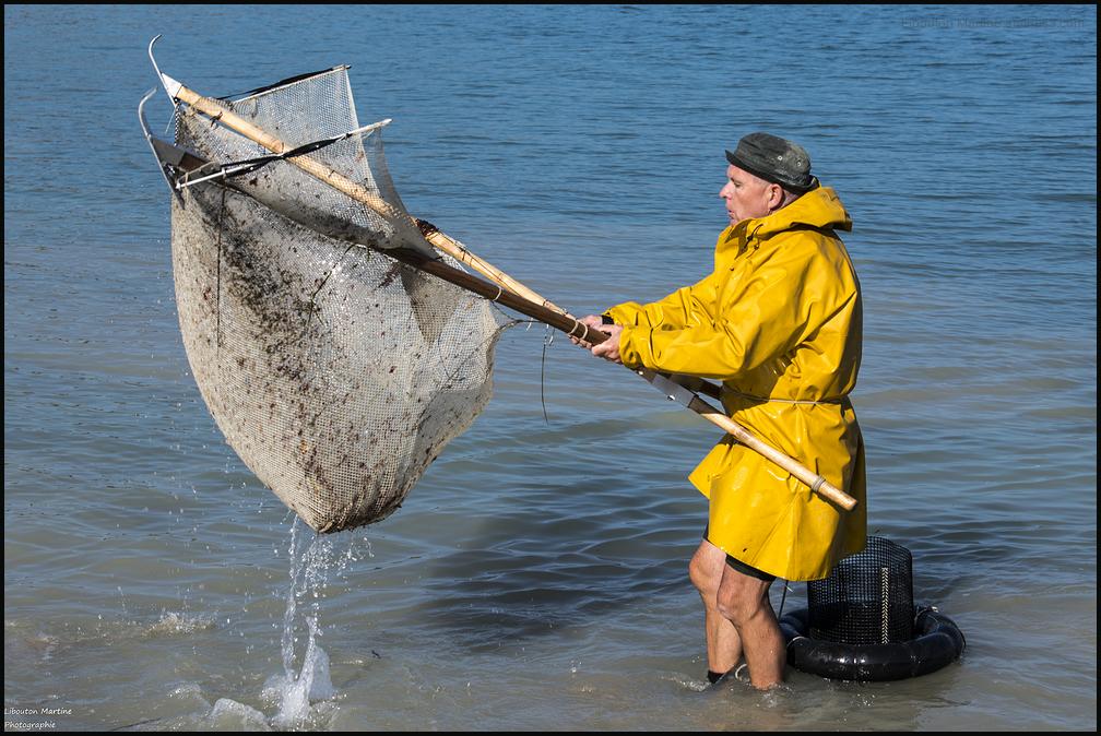 Le pêcheurs de crevettes avec un dranet ! 3