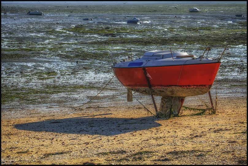 En attente de la marée...
