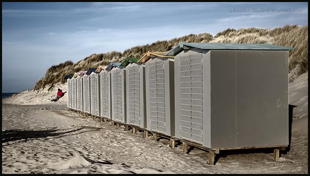 Les cabines de plages !