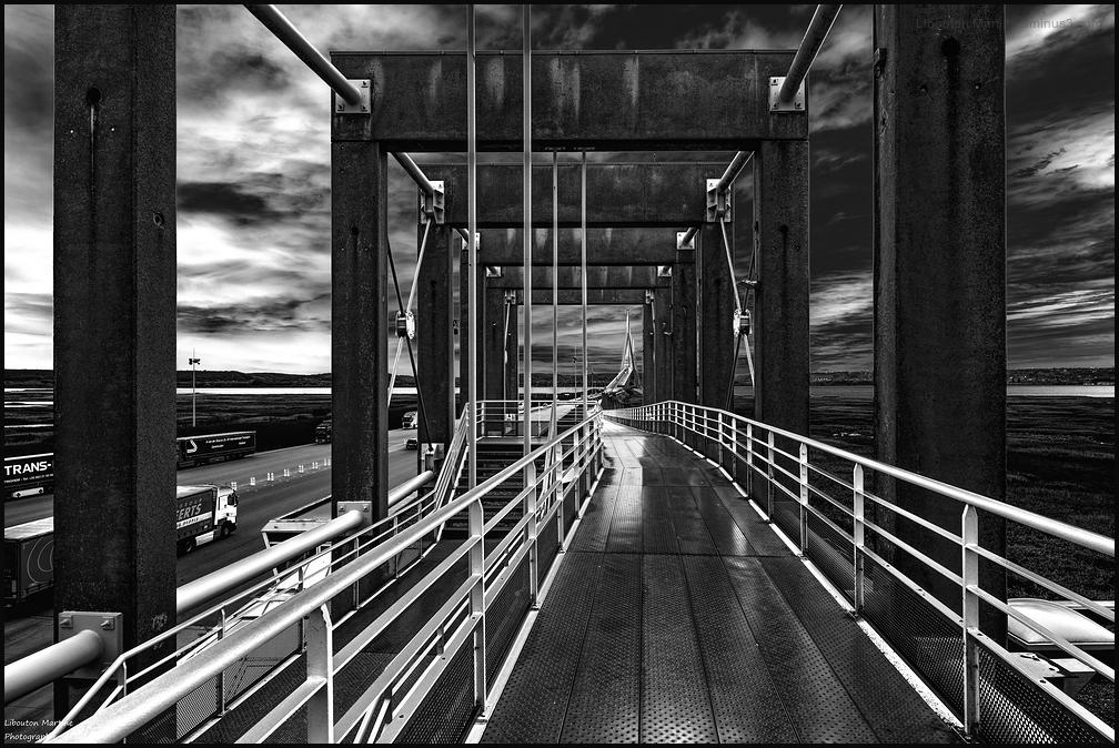 Vers le pont de Normandie