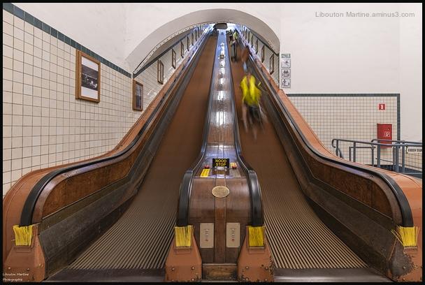 L'escalator !