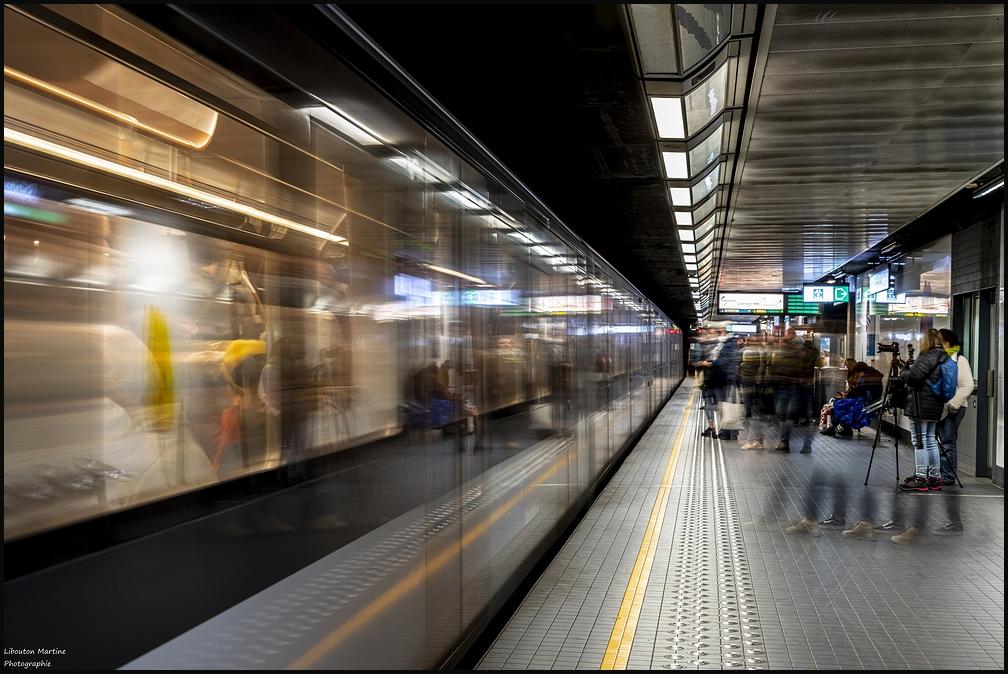 Les fantômes du métro de Bruxelles !