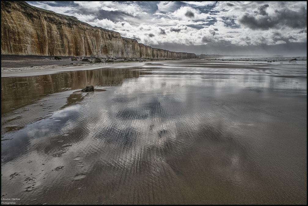 Les falaises de Normandie !