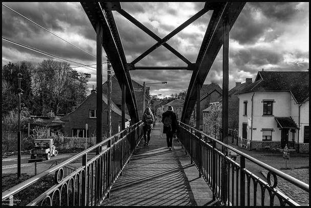 Sur le pont ...d'Arquennes !!!