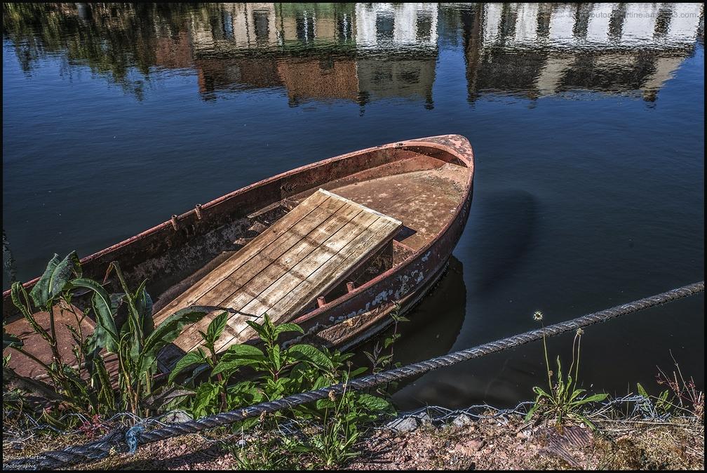 La barque à l'ancre