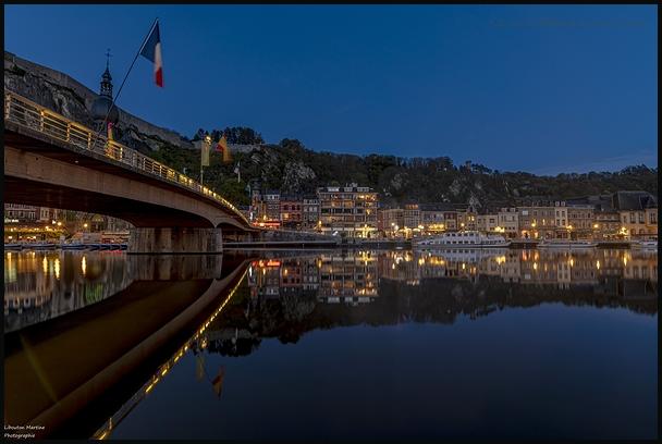 L'heure bleue sous le pont !!!