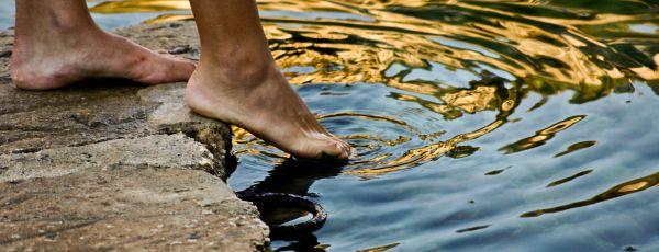 Feet in the Sea