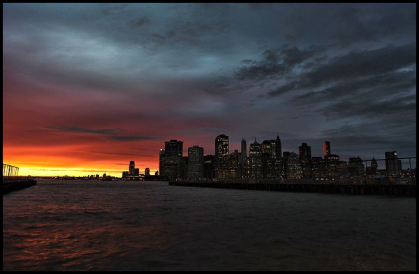 Lower Manhattan Sunset