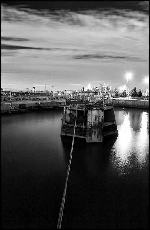 Barge in Brooklyn