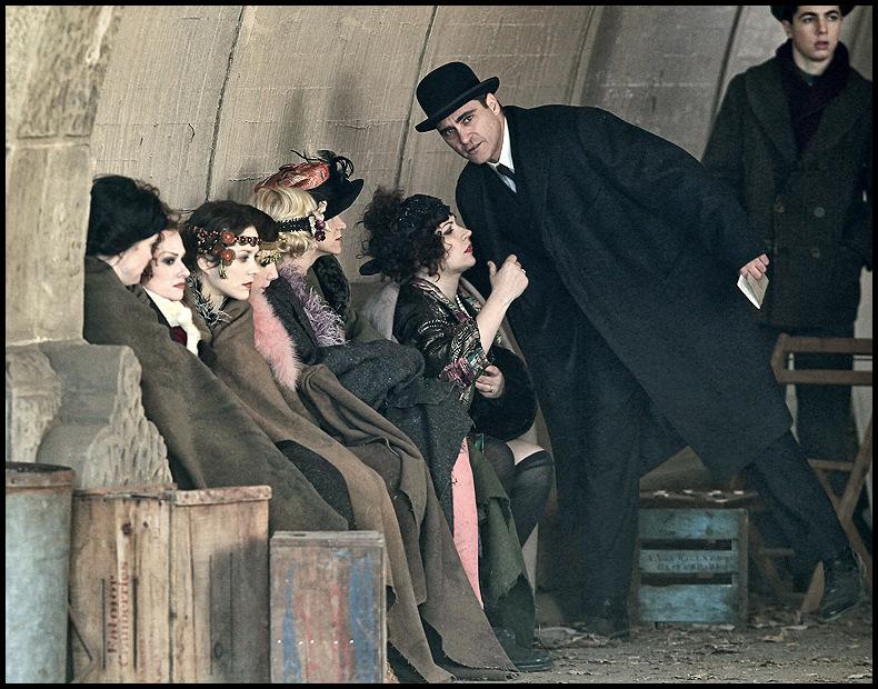 Joaquin Phoenix and Marion Cotillard film