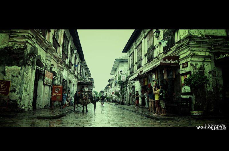 Streets in Vigan, Ilocos Sur