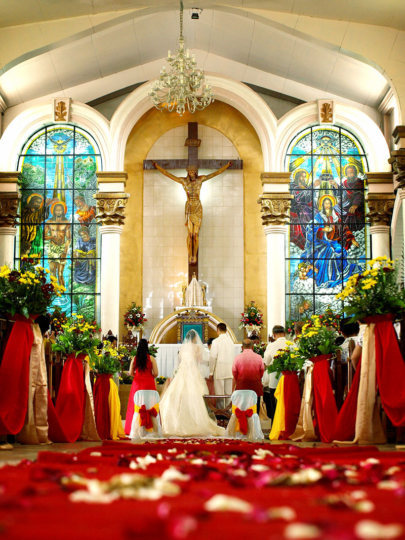 A catholic wedding