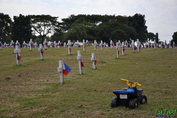 play dead cemetery