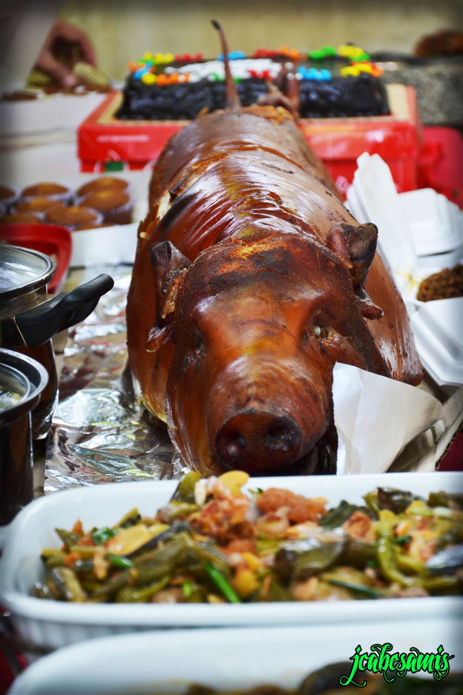 Lechon pork food delicious