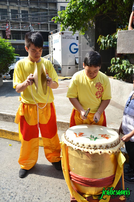 kids drums binondo manila chinese new year
