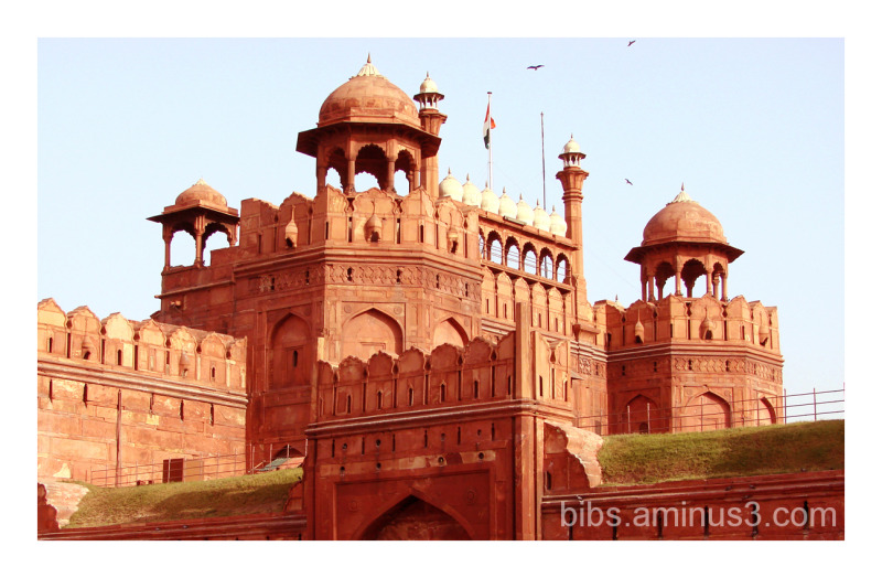 Lal Quila (The Red Fort), New Delhi, India