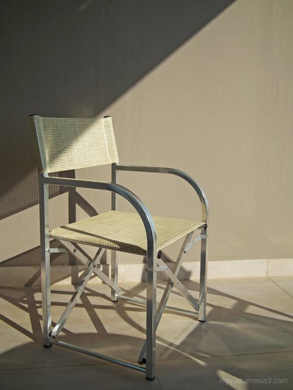 Chair on terrace