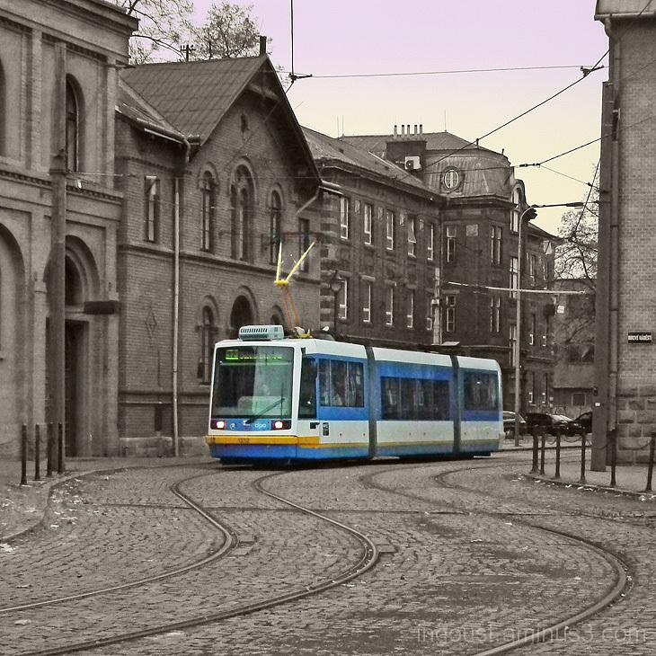 city, tramway, transport, Ostrava