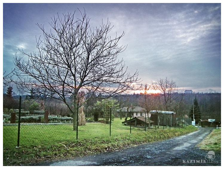 December nightfall