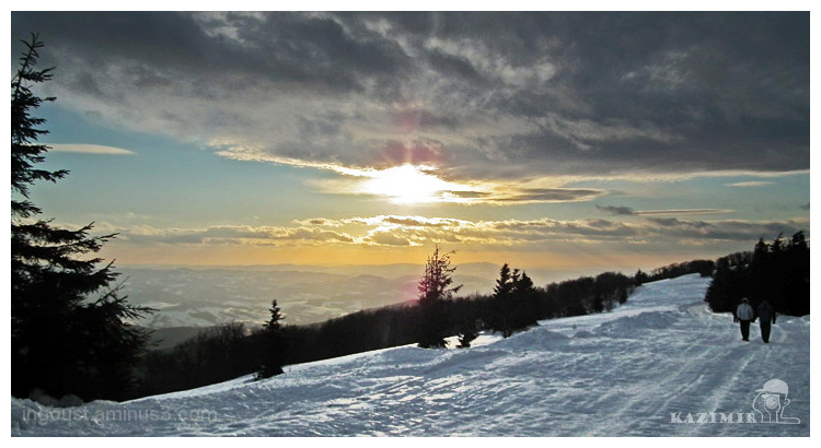 Winter in Beskydy Mountains