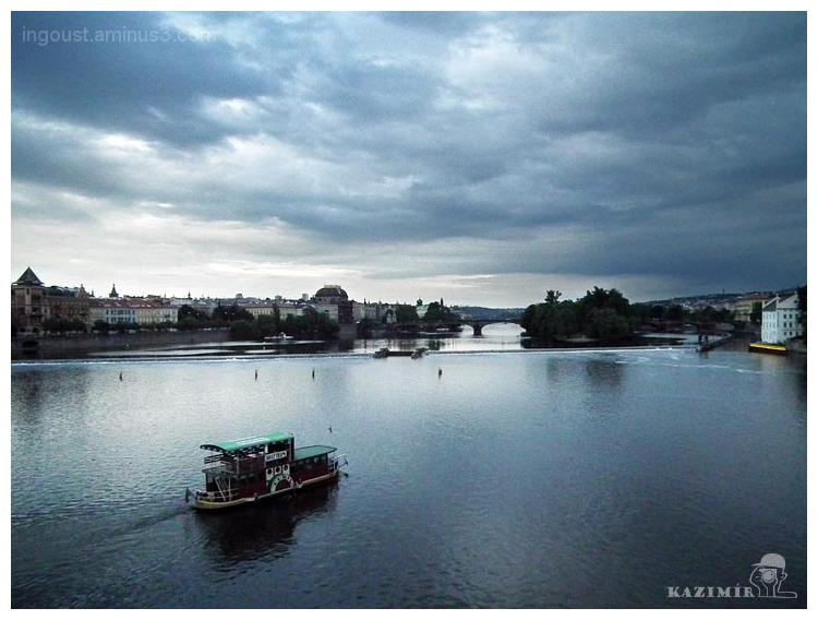 View from Charles Bridge / Prague