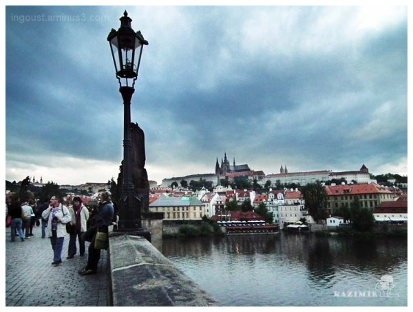 Clouds over Prague