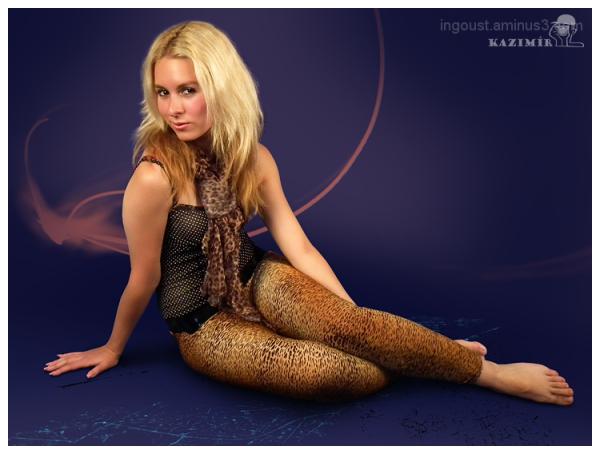 Kristyna sitting