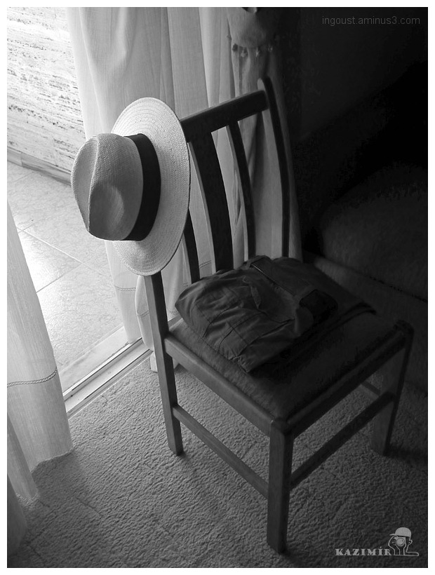 Hat on the chair