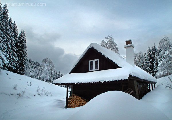 Winter in the mountains 01