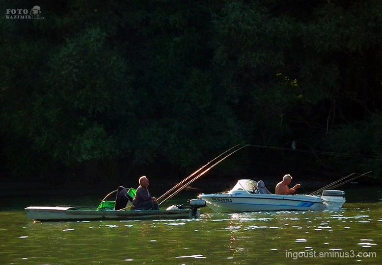 Fishing on Dunaj