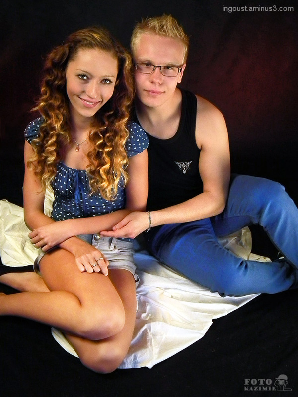 Mischa with boyfriend