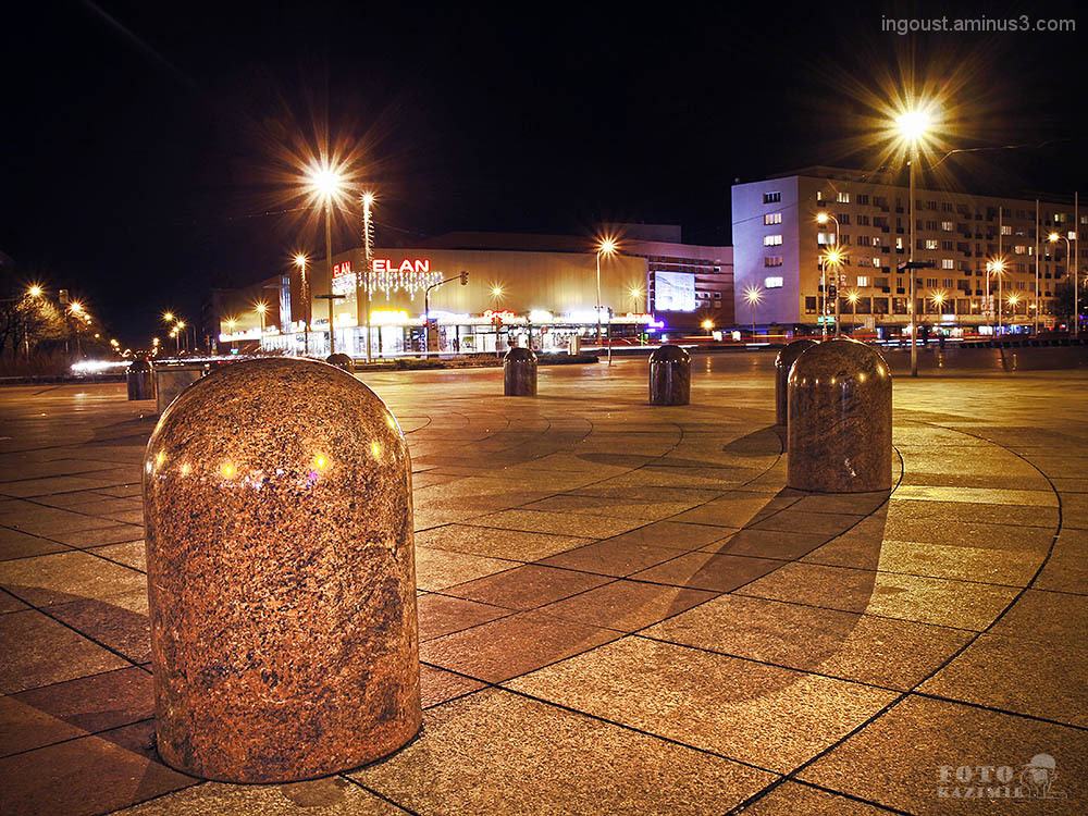 Havířov City in the night