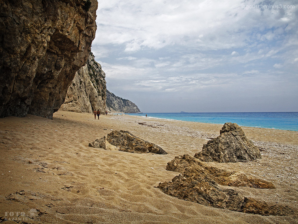 On the beach / Lefkada