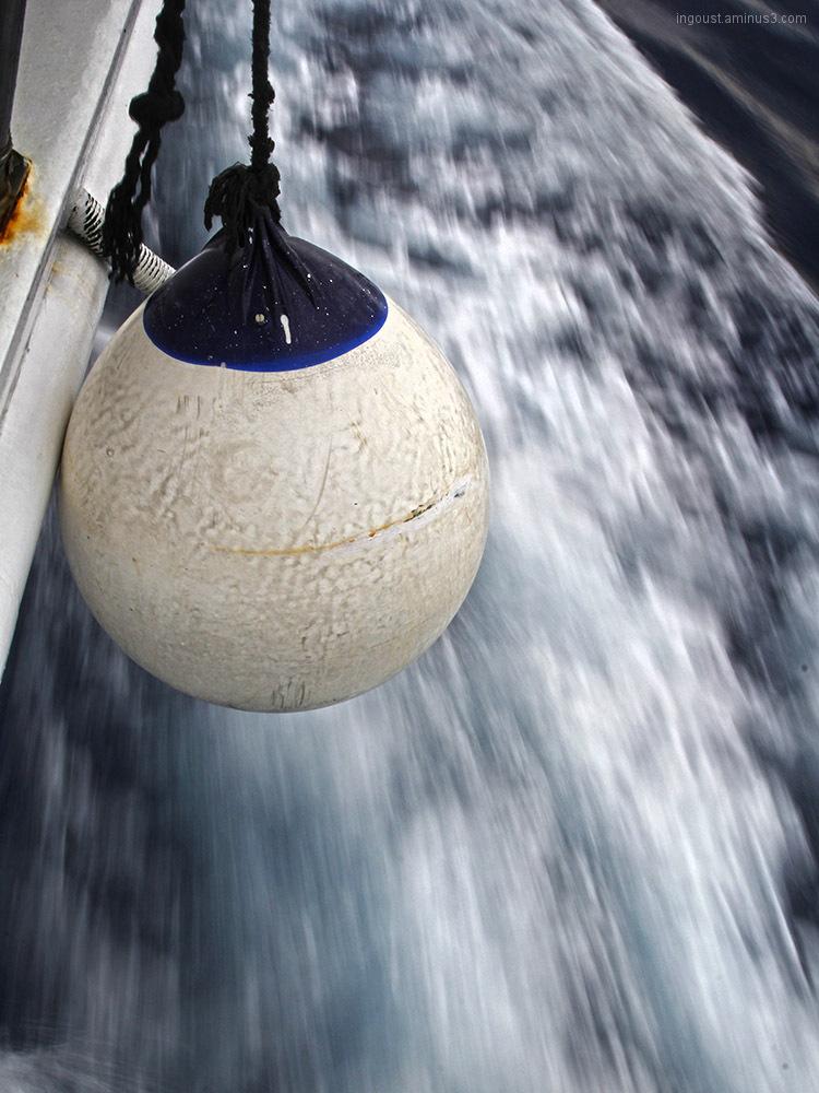 boat, sea, ball, speed