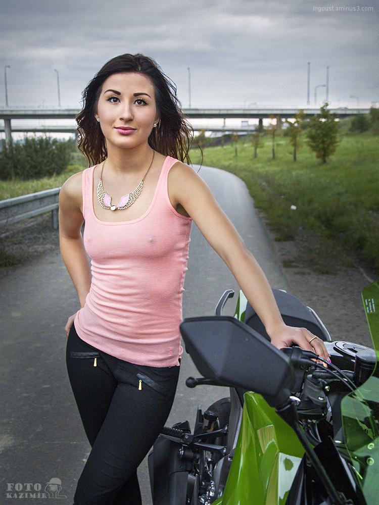 Motorbike girl II.