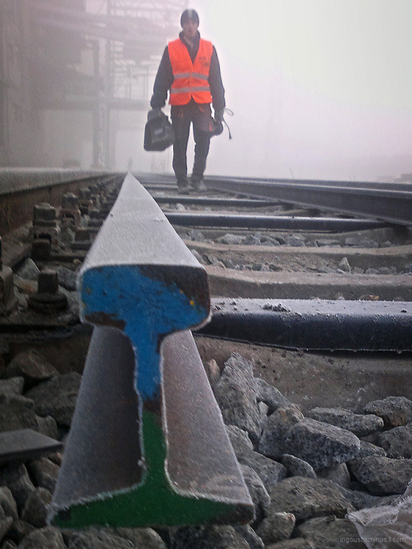 Frozen rail