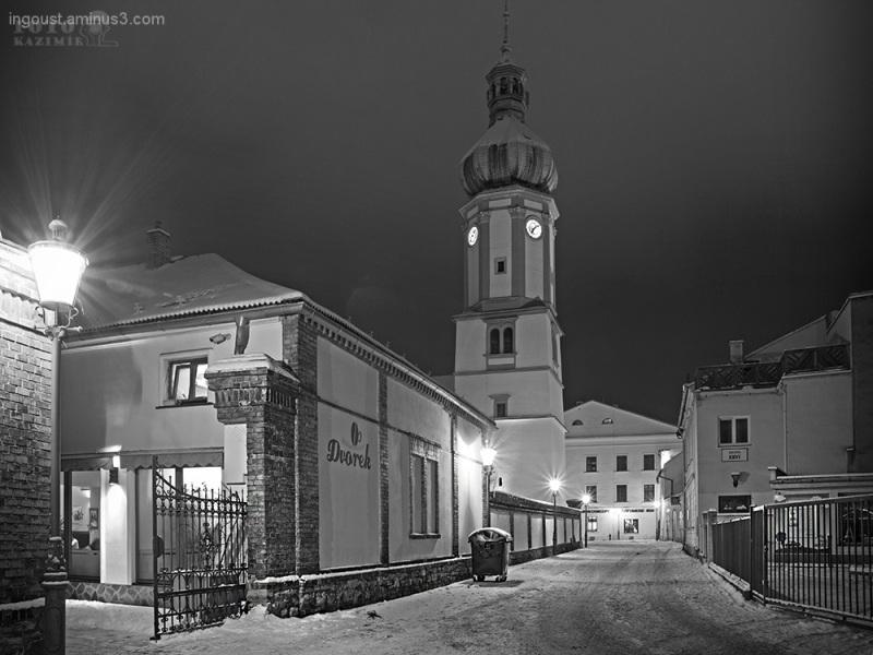 Frýdek-Místek in the night VI.