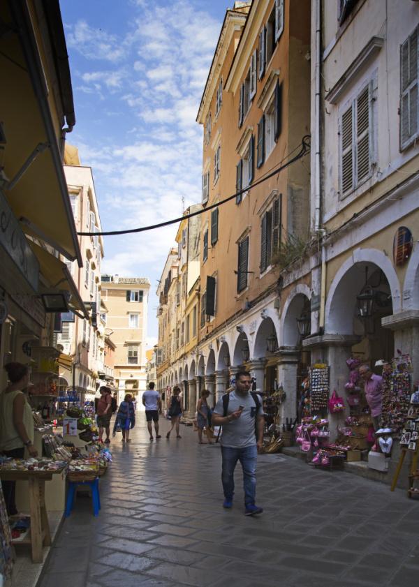 Streets of Kerkyra